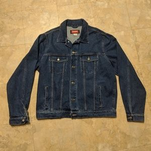 Wrangler Hero Denim Jacket Men's size XLT Jean